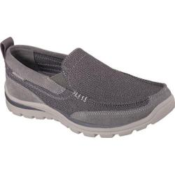 Men's Skechers Relaxed Fit Superior Milford Charcoal/Gray