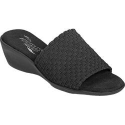 Women's Aerosoles Cake Badder Black Elastic Fabric