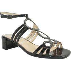 Women's J. Renee Terri Black Faux Patent Leather
