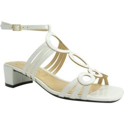 Women's J. Renee Terri White Faux Patent Leather