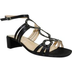 Women's J. Renee Terri Black Glimmer Satin Fabric