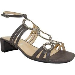 Women's J. Renee Terri Dark Taupe Glimmer Satin Fabric