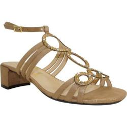 Women's J. Renee Terri Savanna Gold Glimmer Satin Fabric