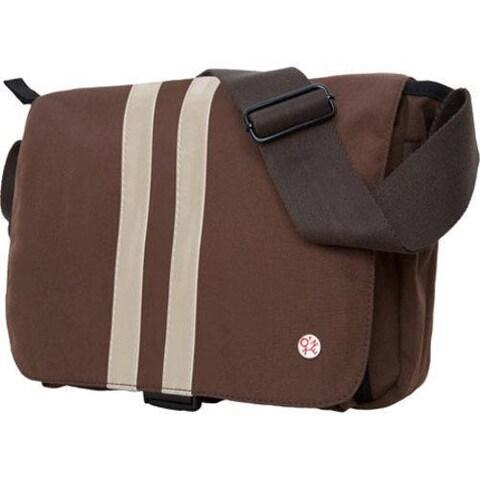 Token Murray Shoulder Bag (Medium) Dark Brown/ Gold