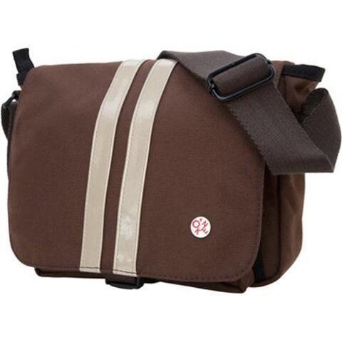 Token Murray Shoulder Bag (Small) Dark Brown/ Gold