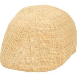 Men's San Diego Hat Company Raffia Straw Driver RHD606 Natural
