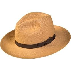Men's Pantropic Classic Fedora Dark Natural/Brown
