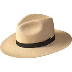 Men's Pantropic Classic Fedora Natural/Brown