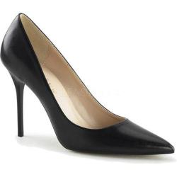 Women's Pleaser Classique 20 Pump Black PU