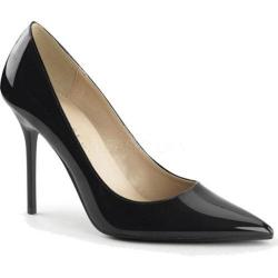 Women's Pleaser Classique 20 Pump Black Patent