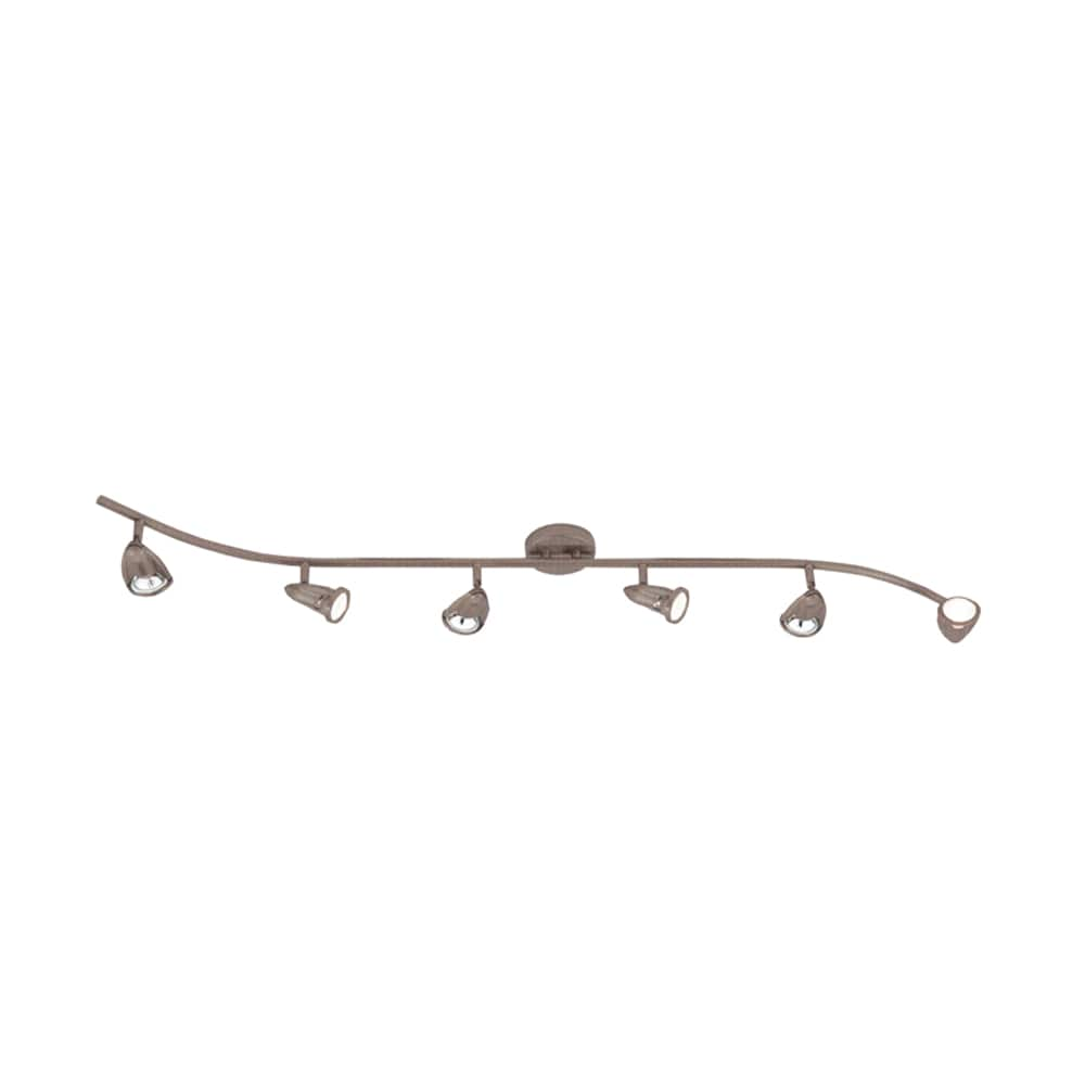Cambridge 6-Light Brushed Nickel 47.25 in. Track Light