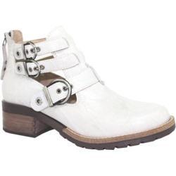 Women's Dromedaris Kelsy Boot Ivory Soft Waxy Leather