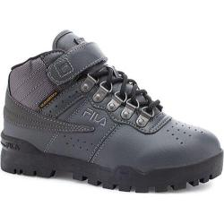 Children's Fila F-13 Weather Tech Castlerock/Black/Dark Silver