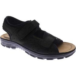 Men's Spring Step Mysia Black Nubuck (More options available)