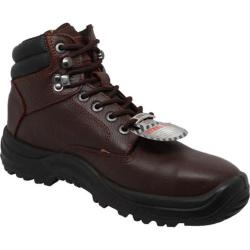 Men's AdTec 1013 6in Steel Toe TPU Work Boot Brown Leather