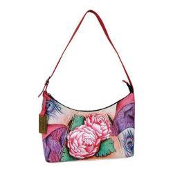 Women's Anuschka Medium Zippered Hobo Rosy Reverie