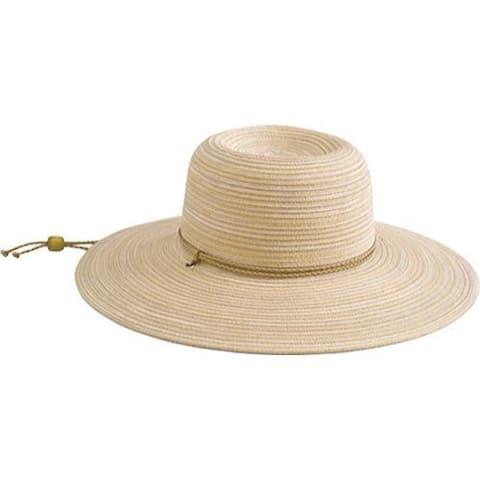 Women's San Diego Hat Company Mixed Braid Garden Hat MXG4000 Rust