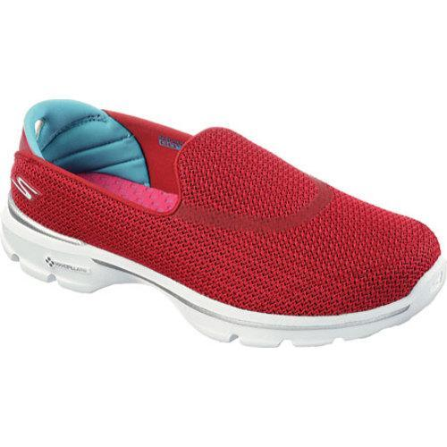4f5c952a5b5b5 Shop Women's Skechers GOwalk 3 Red/Blue - Free Shipping Today - Overstock -  9977764
