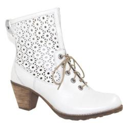 Women's Dromedaris Fibi Boot Ivory Soft Waxy Leather