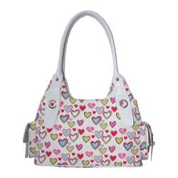 Women's I Love Lucy Signature Product Sweetheart Satchel Pink