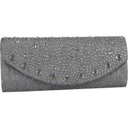 Women's J. Furmani 61408 Lily Clutch Pewter