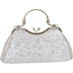 Women's J. Furmani 81022 Vintage Beaded Lace Design Silver