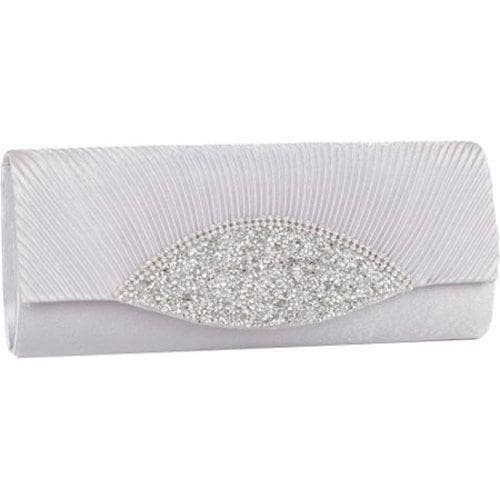 Women's J. Furmani 82208 Amy Clutch Silver