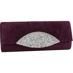 Women's J. Furmani 82208 Amy Clutch Purple