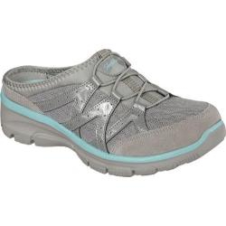 Women's Skechers Relaxed Fit Easy Going Repute Clog Sneaker Gray