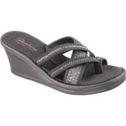 Women's Skechers Rumblers Pen Pal Sandal Gray
