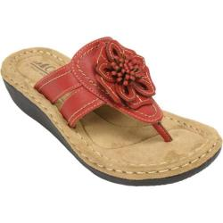 Women's Cliffs by White Mountain Carnation Red Synthetic
