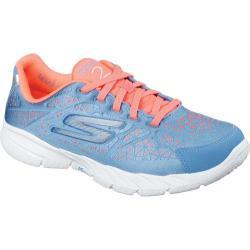 Women's Skechers GOfit 3 Presto Blue/Coral