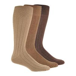 Men's Dockers Essential Rib (6 Pairs) Khaki Assorted