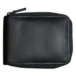 Men's Dopp Regatta Zip Around Billfold Black