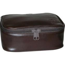 Men's Dopp Travel Express Mini Top Zip Kit Brown