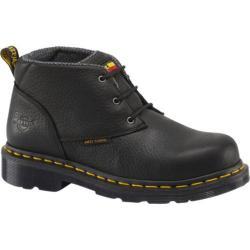 Women's Dr. Martens Izzy ST 3 Eye Chukka Black Industrial Bear