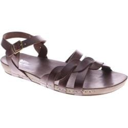 Women's Spring Step Causeway Brown Multi Leather