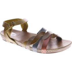 Women's Spring Step Causeway Natural Multi Leather