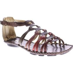 Women's Spring Step Sheldony Brown Multi Leather