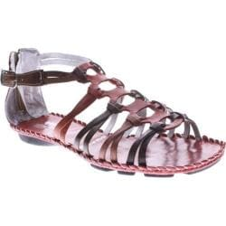 Women's Spring Step Sheldony Red Multi Leather
