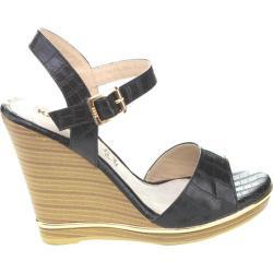 Women's Westbuitti Evina-3 Wedge Sandal Black