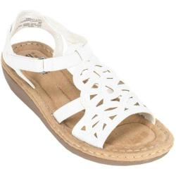 Women's Cliffs by White Mountain Chambray White Burnished Smooth