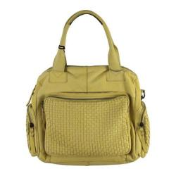 Women's Latico Abbe Handbag 4004 Yellow Leather
