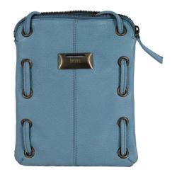 Women's Latico Berne Cross Body Bag 8925 Ocean Leather