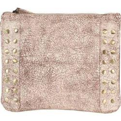 Women's Latico Bleecker Cross Body Bag 8926 Crackle White Leather