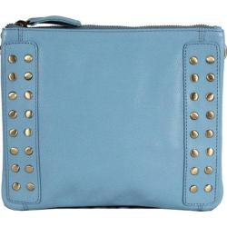 Women's Latico Bleecker Cross Body Bag 8926 Ocean Leather