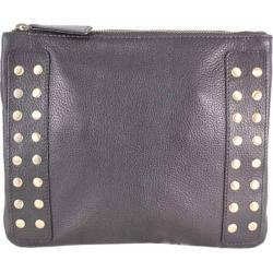 Women's Latico Bleecker Cross Body Bag 8926 Pebble Black Leather