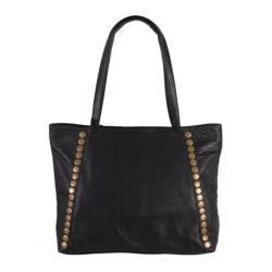 Women's Latico Bowie Handbag 8927 Pebble Black Leather