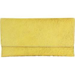 Women's Latico Furbulous Clutch 6212 Yellow