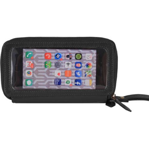 Women's Latico Lulu Phone Wallet 5790 Black Leather
